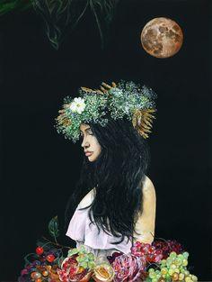 "Serenity. Limited edition giclée print, 12 x 16"" (30.5 x 40.6 cm) 1/20"