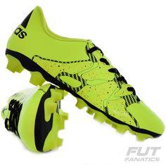 Chuteira Adidas X 15.4 FG Campo Verde Somente na FutFanatics você compra  agora Chuteira Adidas X 7c079578485b5