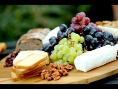 Beth's Holiday Chesse Board -Entertaining With Beth
