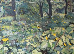 By The Old Orchard by Francois Fournier Oil ~ 30 x 40
