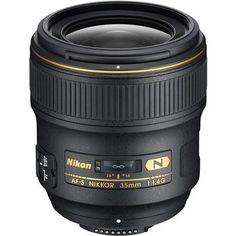 Nikon 35mm f/1.4G AF-S Nikkor Lens - U.S.A. Warranty