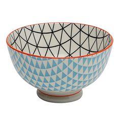 Ambrosia Koko Rex Small Bowl 11cm Blue/Orange