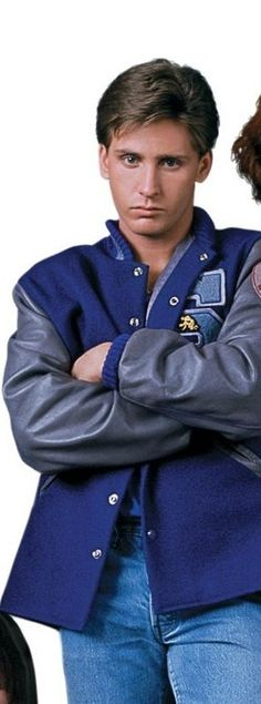 "Emilio Estevez as Andrew Clark ""Athlete"" {The Breakfast Club Breakfast Club Quotes, The Breakfast Club, 80s Movies, Funny Movies, 1980s Films, Emilio Estevez Breakfast Club, Judd Nelson, Brat Pack, I See Stars"