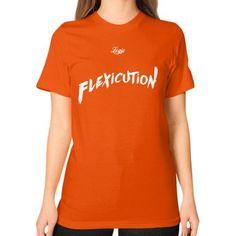 Flexicution Logic Unisex T-Shirt (on woman)