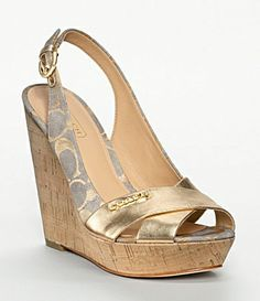 Coach wedges :)