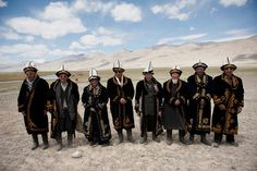 Modern Day, in Afghanistan. This will keep Mongol images out of my head - how the Khan dresses.