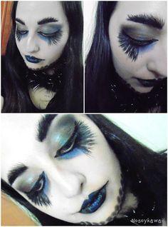 El Mundo según Elizabetha : [Look para Halloween] Halloween Makeup - The Raven...