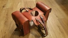 BMW r45 r65 r80 r100 leather tank bags cafe racer special scrambler by maxakaido