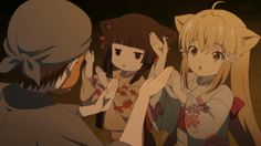 Yuzu and Sakura learning the bon dance. Neko, Best Animes Ever, What Goes On, Drawing Tips, Kawaii, Manga, Feelings, Drawings, Yuri