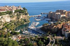 Port de Fontvieille, Monaco     this is where our hotel was