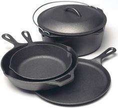 Buy Lodge Cast Iron Skillet, Griddle, Cookware Sets for Less Online