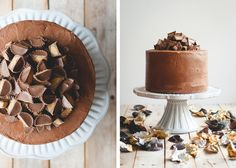 Chocolate Peanut Butter Cup Cake | Butterlust