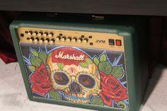 Marshall amps custom tattoo NAMM 2014 #marshall #guitars #music