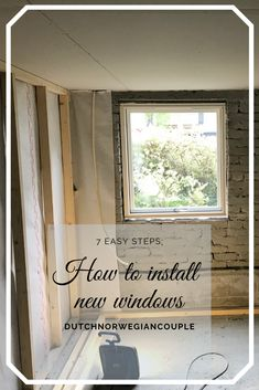Installing a new Window is actually something that everyone can do. It's that easy. We installed all the windows in our house ourselves, without any problems. Here we'll show you 7 easy… Spray Foam Insulation, House Projects, Laminate Flooring, Easy Diy Projects, Home Renovation, Diy Home Decor, New Homes, Windows, Modern