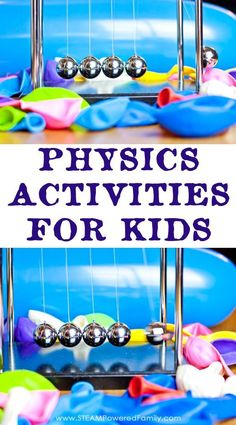 Hands on physics activities that explore Newton's Laws of Motion. An inquiry based lesson plan.