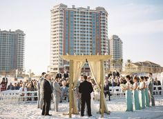 Catherine Guidry | Simply Modern Weddings, Portofino Wedding, Beach Wedding, Pensacola Beach, Beach Wedding Ideas