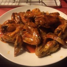 """Awesome Slow Cooker Buffalo Wings   """"They were gone in five minutes and super-easy to make!"""""""