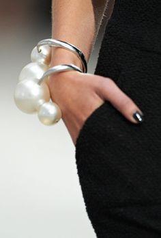 allumininite:  Spring - Summer 2014 Pearl Bracelets.