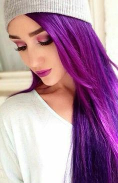 This purple would look great on me