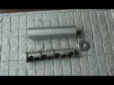 AIR GUN SUPPRESSOR RIFLE SILENCER BASIC TEST 8. THE SAK. - YouTube