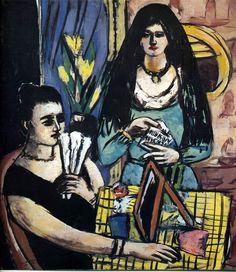 Max Beckmann (German, 1884-1950)  http://www.artmeteo.com/4119/?n58q9