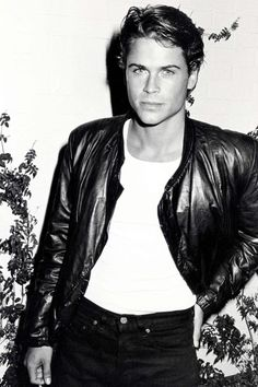 Rob Lowe in 1983 - Ron Galella, Ltd. Cute Celebrity Guys, Cute Celebrities, Celebrity Crush, World Handsome Man, Handsome Boys, Rob Lowe Young, Rob Lowe 80s, I Fancy You, Entertainment