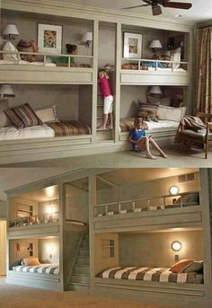 If I get rich someday, I want this in the guest room. The other half of the room will be a comfy grey couch and a t.v