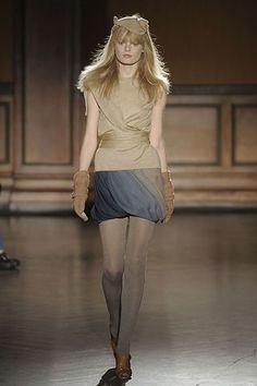 Costello Tagliapietra Fall 2008 Ready-to-Wear Fashion Show - Hanne Gaby Odiele
