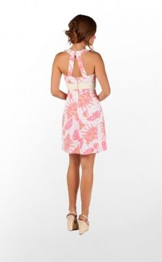 Love the print! Lilly Pulitzer TINSLEY DRESS - CONCHED OUT | The Pink Pelican