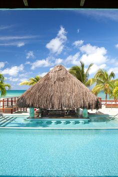 Couples Tower Isle- swim up bar! We will spend considerable time here! :)