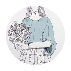 Find images and videos about girl, art and blue on We Heart It - the app to get lost in what you love. Aesthetic Drawing, Aesthetic Art, Aesthetic Anime, Character Illustration, Illustration Art, Illustrations, Character Art, Character Design, Dibujos Cute