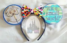 It's a Small World After All Ears by CastleBound1955 on Etsy
