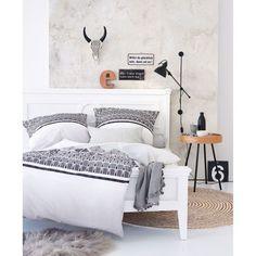 Bett, Landhausstil Katalogbild