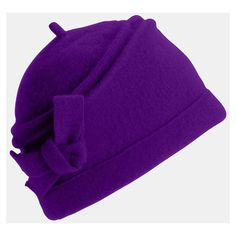 Tarnish Boiled Wool Cloche ($38) ❤ liked on Polyvore