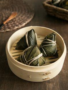 Easy Red Bean Sticky Rice Dumpling | Zongzi 粽子
