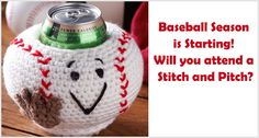 Baseball season is starting! Will you attend a Stitch and Pitch?