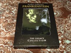 Frankenstein: The Legacy Collection (DVD, 2004, 2-Disc Set) OOP Universal Horror