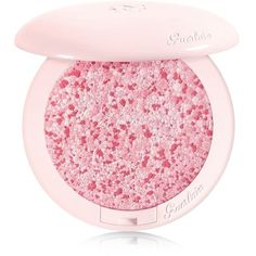 Guerlain Météorites Happy Glow Blush (€51) ❤ liked on Polyvore featuring beauty products, makeup, cheek makeup, blush, beauty, faces, pink, guerlain and guerlain blush