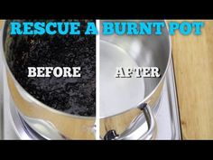 The Easiest Way to Clean a Burnt Pot or Pan | Hometalk