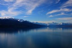 Lake Pukaki, Canterbury, New Zealand-  Photo by Emanuele Del Bufalo --