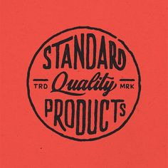 Standard Quality Products by Daniel Coull