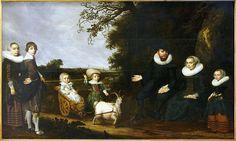 Attributed to Jan Daemen Cool (circa 1589–1660)Portrait d'une famille Date1631