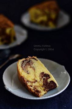 Simply Cooking and Baking...: Marmer Cake Jadul (No Food Additives)