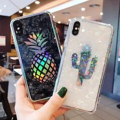 2 in 1 Glitter Phone Case (Black) + Screen Protector, Compatible with iPhone 6 Plus/iPhone Plus Diy Iphone Case, Glitter Iphone 6 Case, Iphone 5, Coque Iphone, Iphone Phone Cases, Apple Iphone, Iphone Charger, Cell Phone Covers, Iphone Ringtone