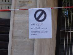 VISTO DAL basso    : ROMA Gli avvisi bugiardi e la mancanza di rispetto...