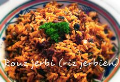 Mangez tunisien: Rouz jerbi (riz de jerba)