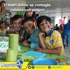 Te brindamos diversión al lado de los que más quieres.  #felizdia #Miercoles #diversion #niños #fiestasmaracaibo #fiestainfantil