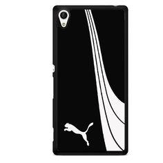 Puma Black White TATUM-8972 Sony Phonecase Cover For Xperia Z1, Xperia Z2, Xperia Z3, Xperia Z4, Xperia Z5