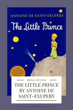 "The Little Prince has a strange history (like most timeless, classic children's books). The author, Antoine de Saint-Exupéry, was a French aviator, childless, and (at the time of writing) living under grueling war-time exile. How he managed to both write and illustrate such a perennially popular moral allegory, a ""spiritual biography"", under those circumstances, I'll never know…"