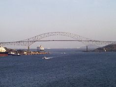 Bridge of the Americas, Panama City, Panama - I drove it every day for years!